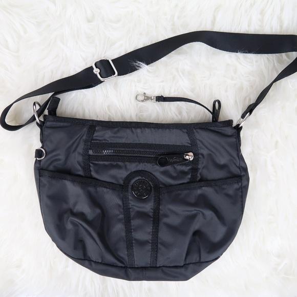086a1dbde Kipling Handbags - Kipling Gorilla Girlz Black Medium Crossbody Bag